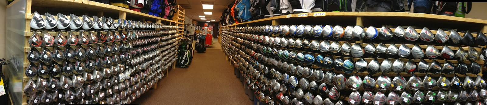 Golf Traders infamous Club Vault