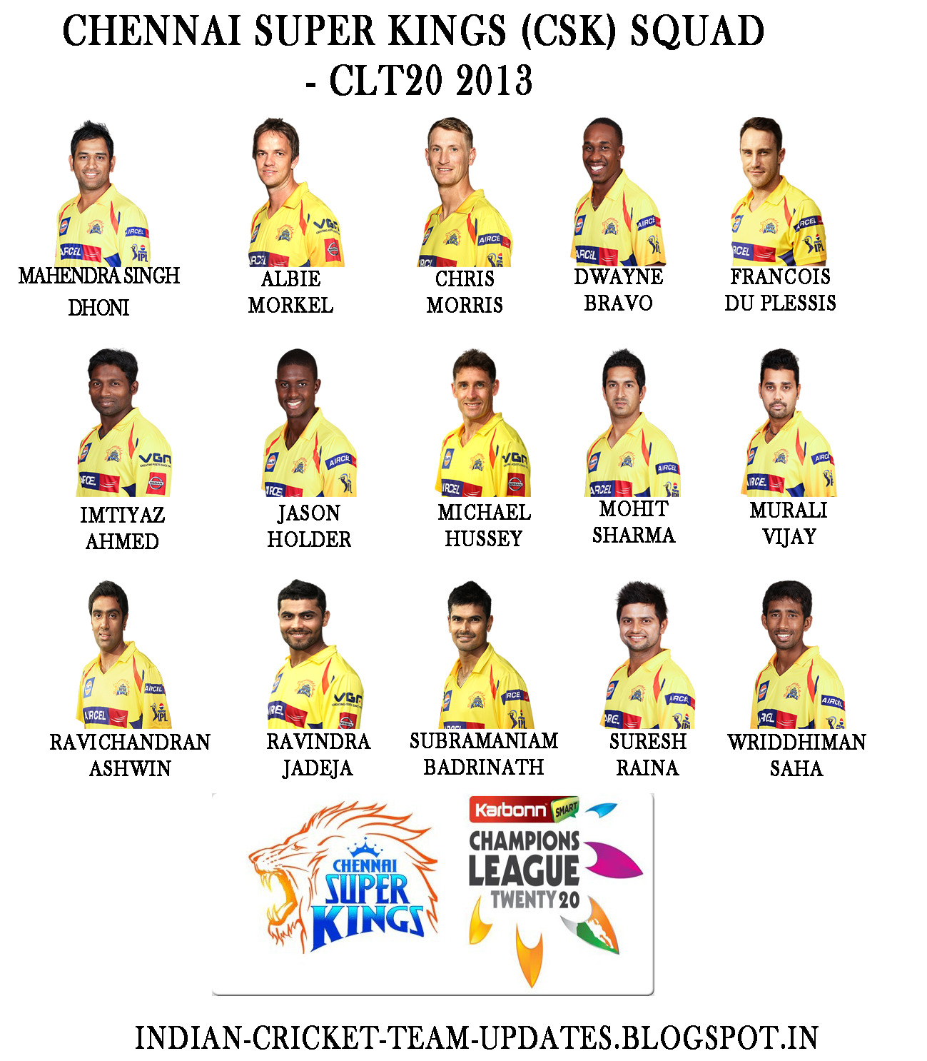 Chennai-Super-Kings-CLT20-2013-Squad