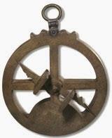 O que é um astrolábio náutico