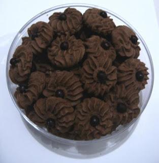 Resep Kue Kering Semprit Cokelat