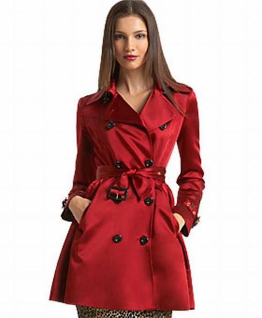 Red Stunning Coat For Women
