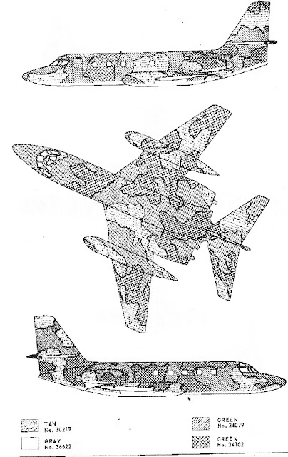 Lockheed C-140 JetStar diagram