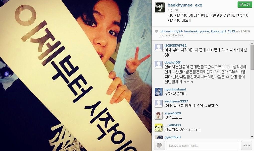Taeyeon baekhyun dating instagram