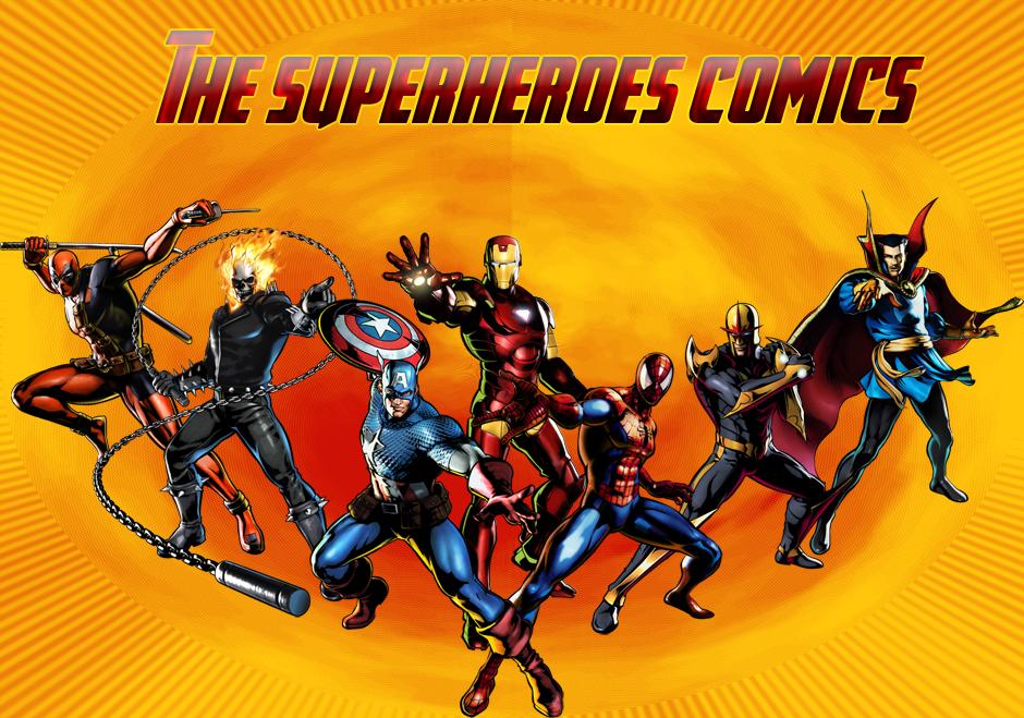 Superheroes Cómics