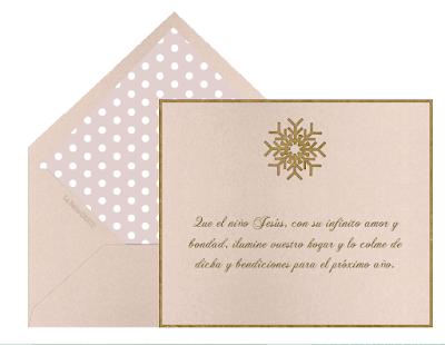 Cartas navideñas para regalar