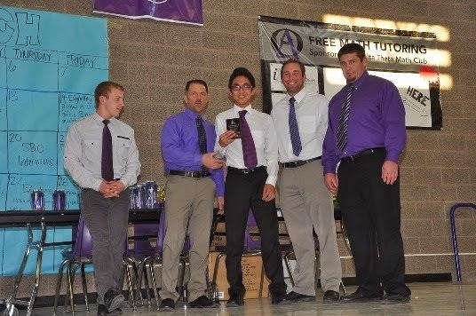 2013-14 Outstanding Freshman - Michael Jamiyandorj