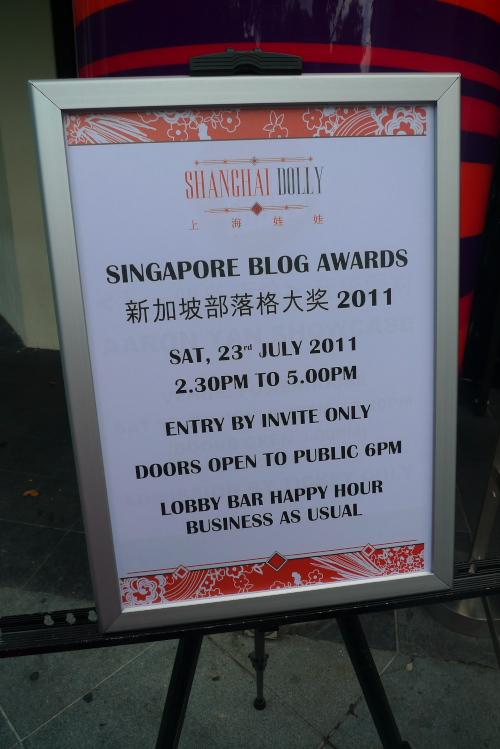 Kristinism: Singapore Blog Awards 2011!