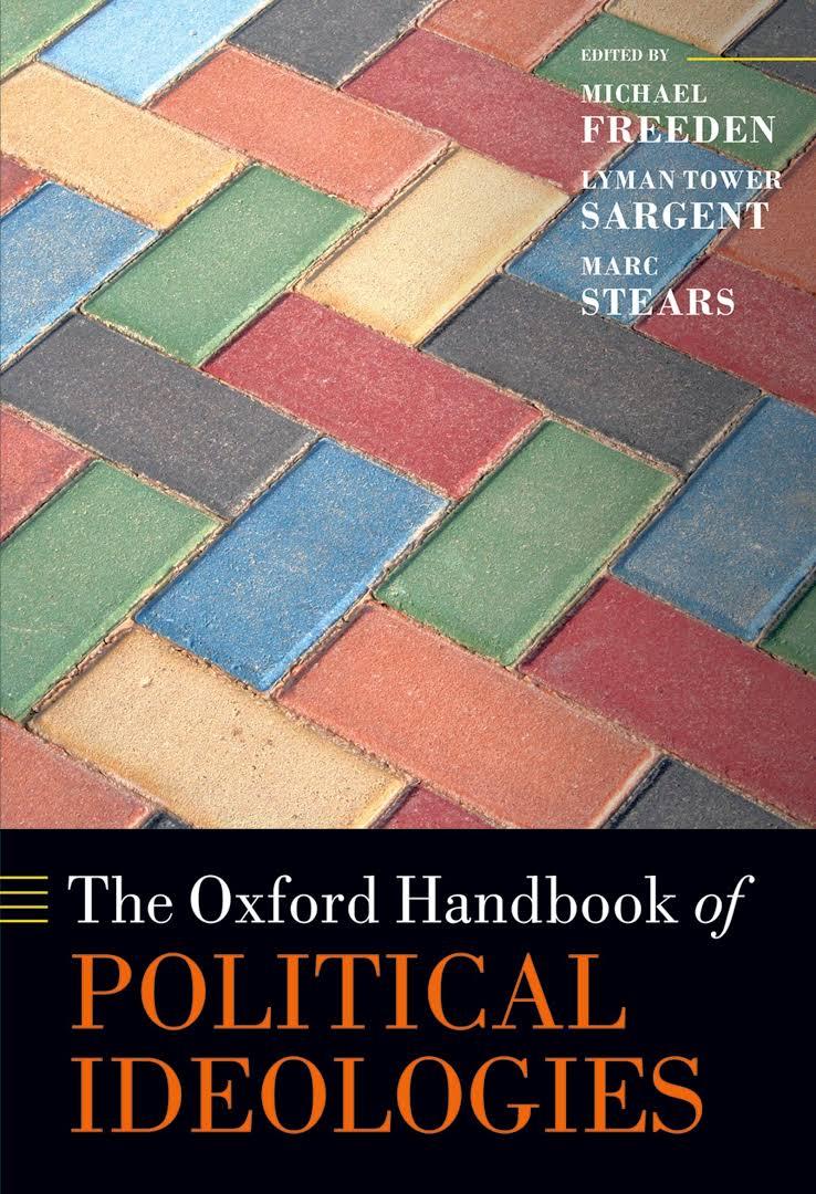 The Oxford Handbook of Political Ideologies