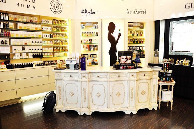 магазин нишевой парфюмерии в вене