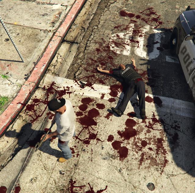 Realistic Blood Mod para GTA 5