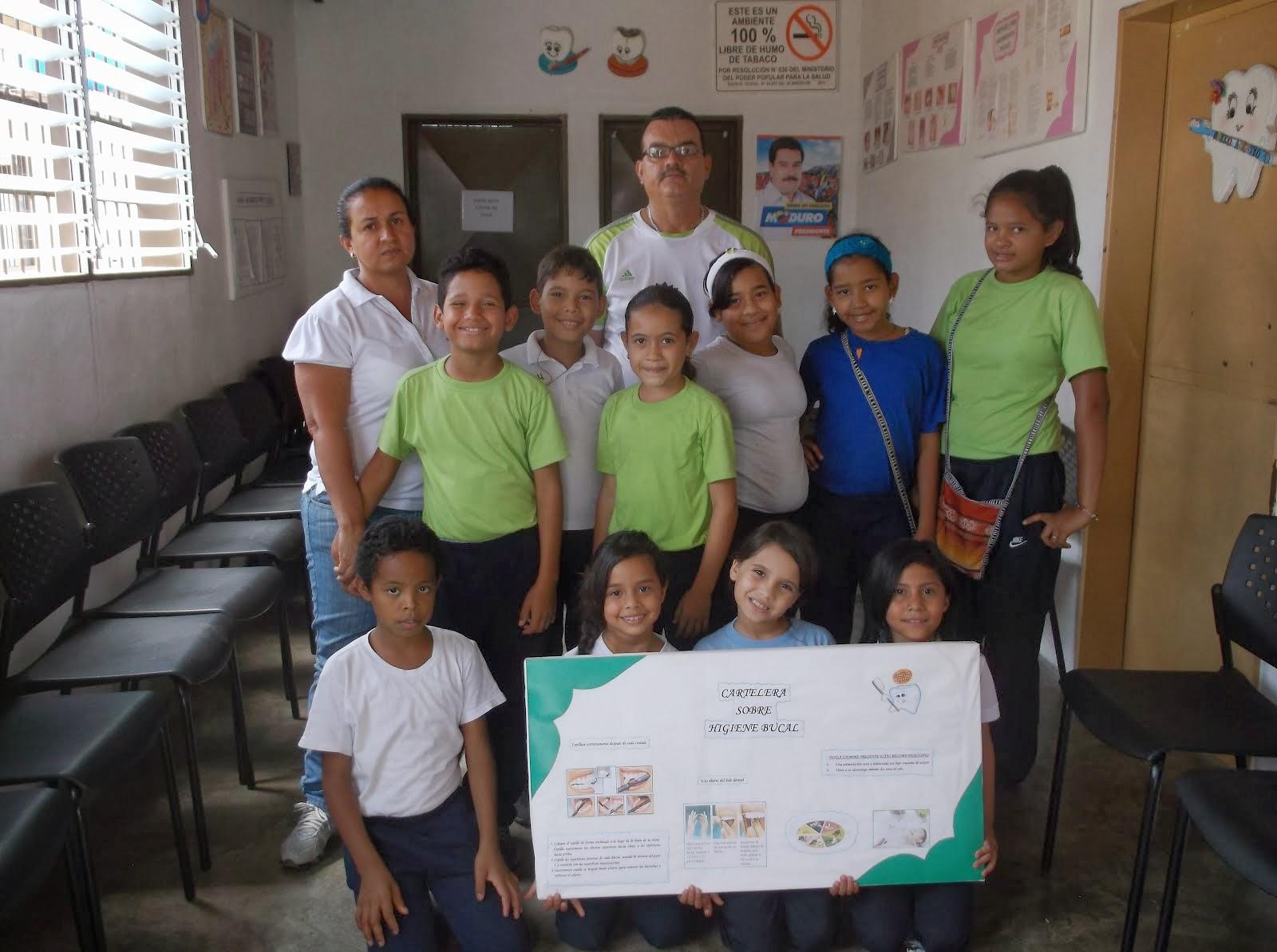 FOTO DE EVIDENCIAS PROYECTO DE ODONTOLOGIA DEL PROF.MIGUEL HERNANDEZ 05-02-2014