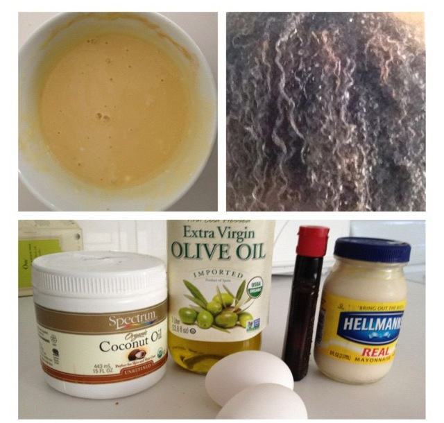 Olive Oil Hair Mayonnaise For Natural Hair