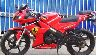100 Modifikasi Motor Minerva 150r