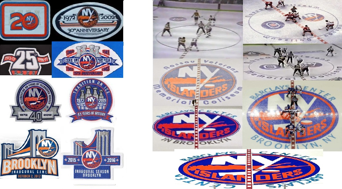 Anniversay Patches, Center Ice