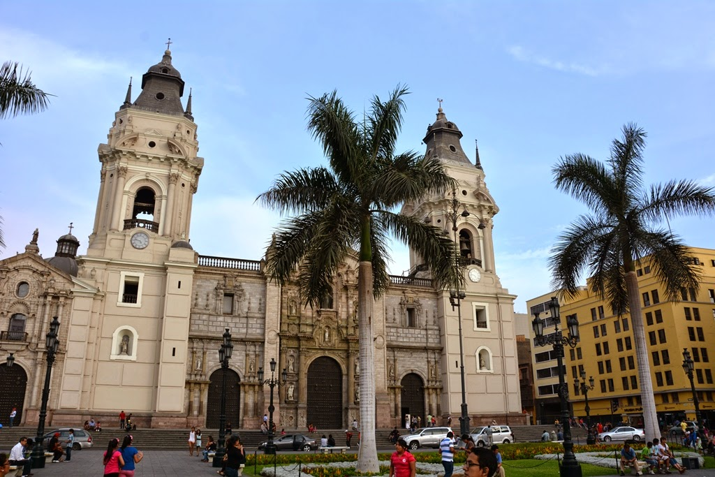 Plaza Mayor Lima catedral