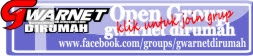 join open grup gwarnet di rumah
