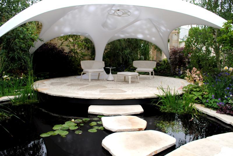 Visitando el rhs chelsea flower show de 2011 jardines for Alma de agua jardin de eventos