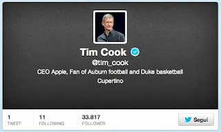 Tim Cook Twitter Apple