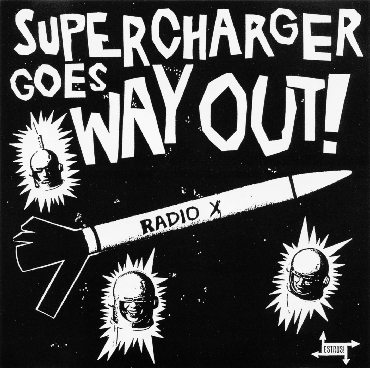 Power Pop Lovers Supercharger Goes Way Out 1993