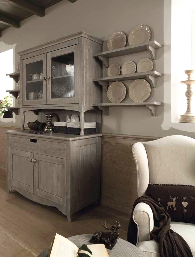Una credenza da personalizzare shabby chic interiors - Credenze cucina ikea ...