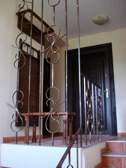Стълби парапет ковано желязо 4