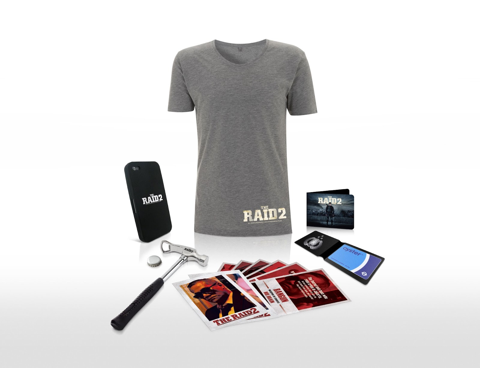 Win an exclusive Raid 2 goody pack