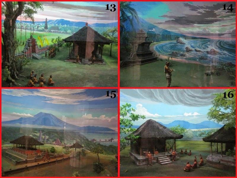 Diorama ke 13-16 Di Museum Bajra Sandi