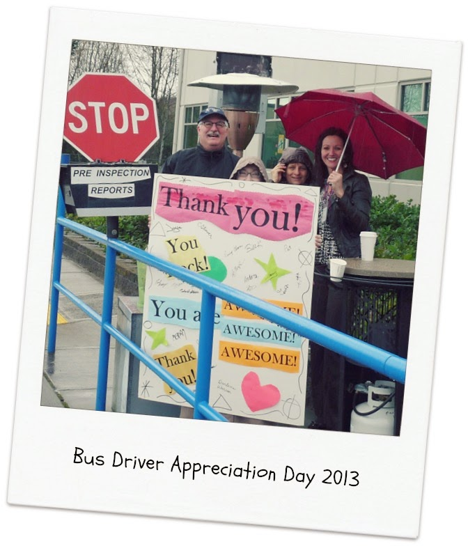 Picture of staff on Bus Driver Appreciation Day