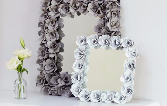 How to make a DIY bubble mirror DIY Craft Projects