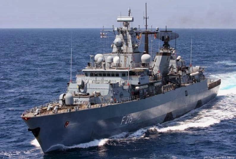 Frigate Brandenburg Class, Jerman