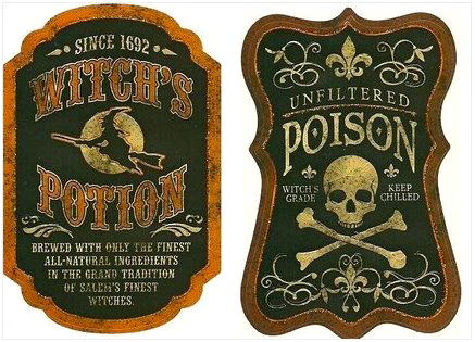 Delicate image pertaining to free printable halloween bottle labels