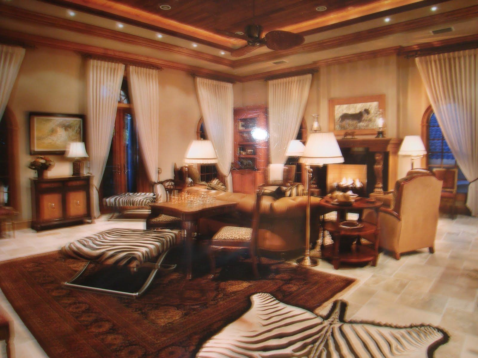 Dean farris style trophy room naples for Trophy room design