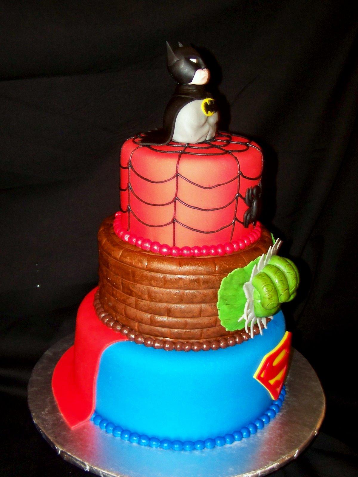 SuperHeroes Cakes on Pinterest