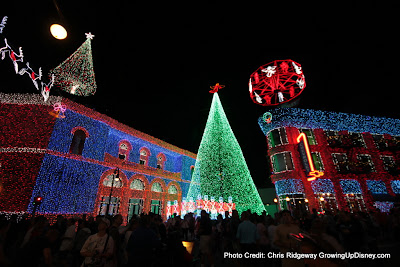 The Osborne Family Spectacle of Dancing Lights at Disney's Hollywood Studios