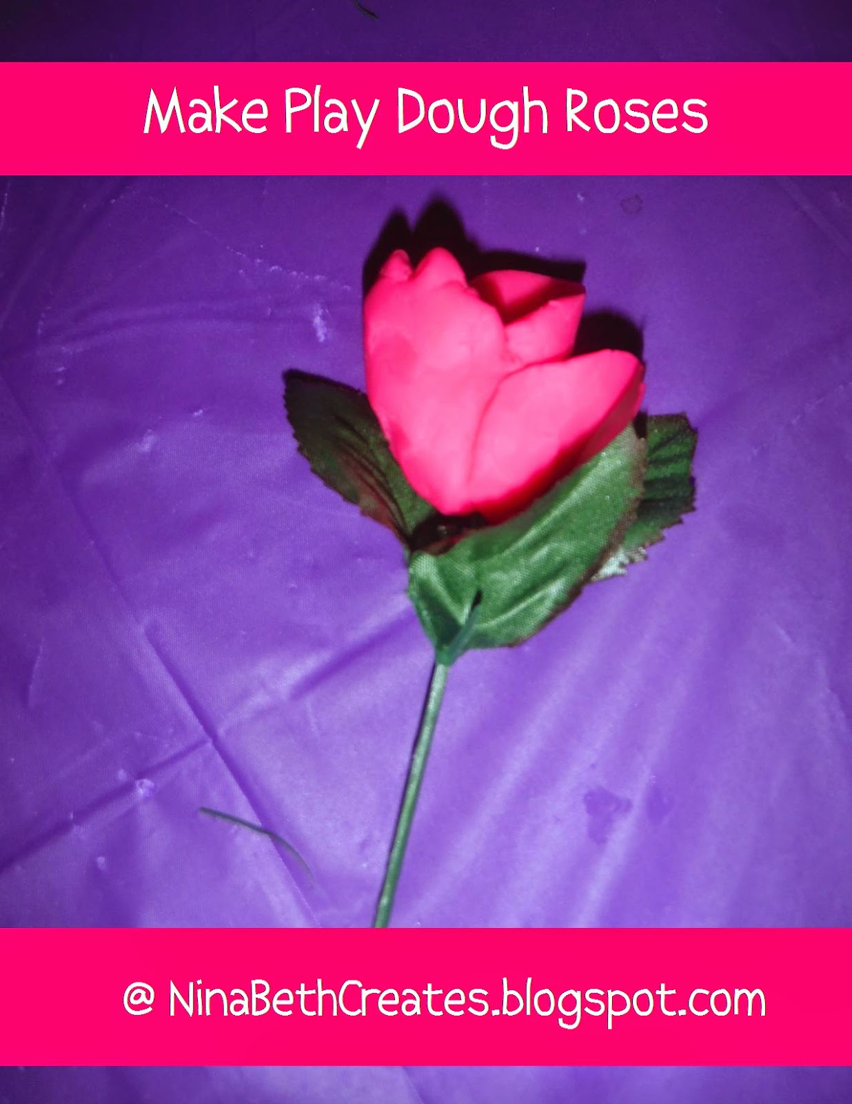 http://ninabethcreates.blogspot.com/2014/12/make-play-dough-roses-with-seven-simple.html