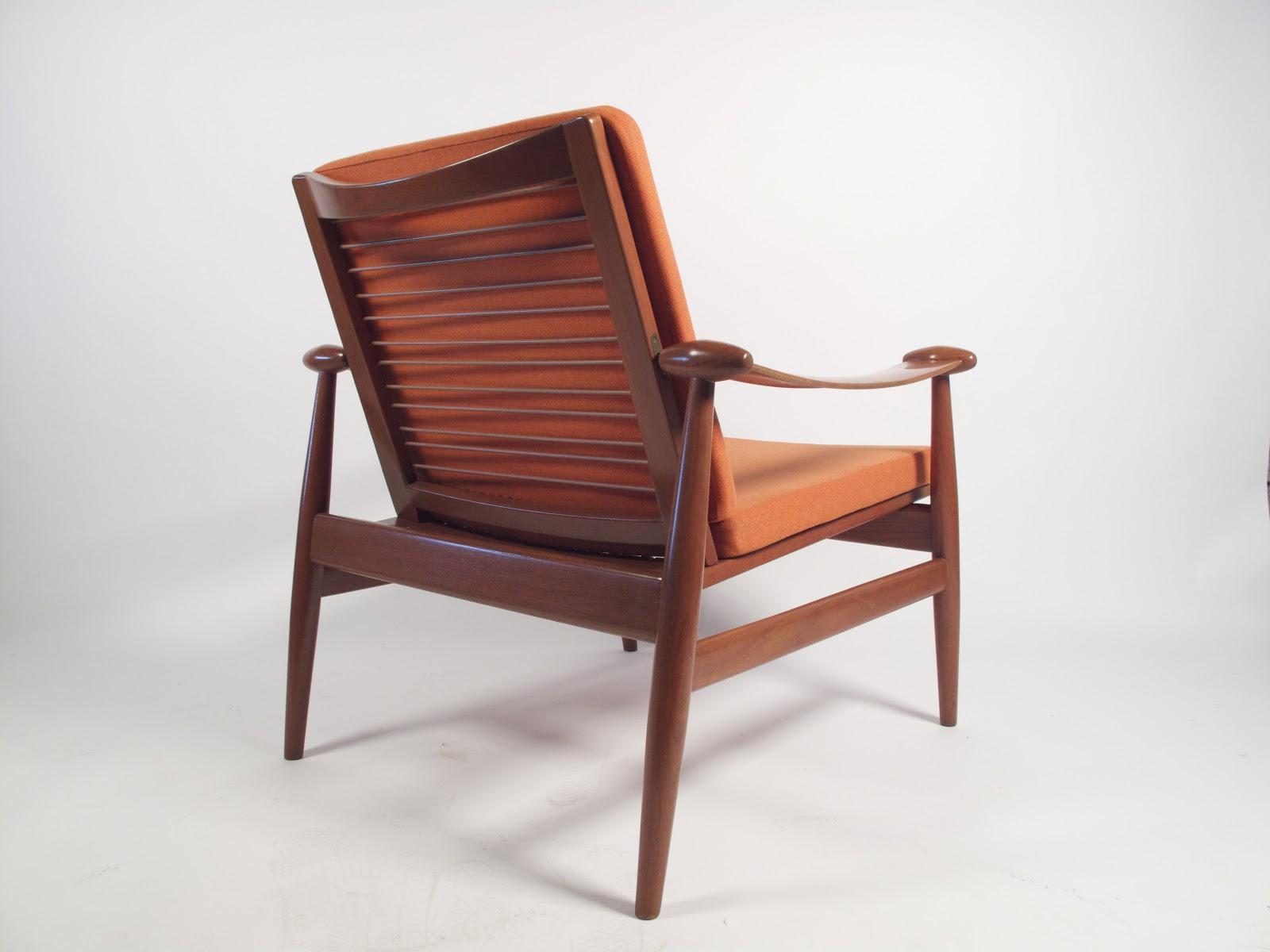 Just in Modern Finn Juhl Teak Lounge Chair 1950 s