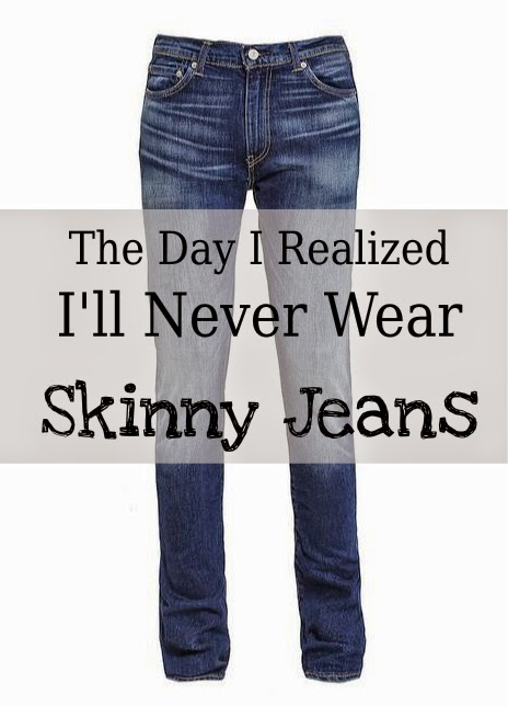 The Day I Realized I'll Never Wear Skinny Jeans -- one woman's ill-fated expedition to the mall to buy a pair of pants  {posted @ Unremarkable Files}