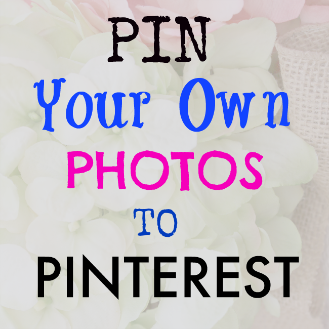 Tutorial on how to pin to Pinterest from your images file.