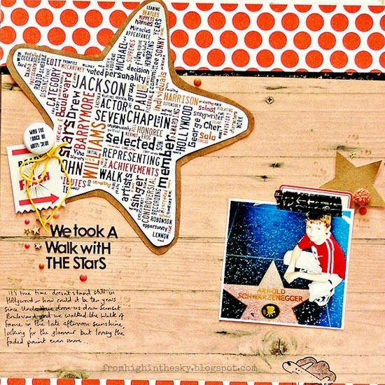 from High in the Sky: scrapbooking text for Get It Scrapped