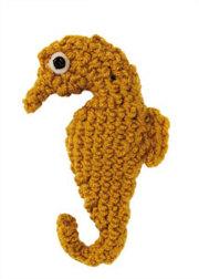 Crochet Amigurumi Seahorse Free Pattern : 2000 Free Amigurumi Patterns: Crochet Sea Creature: Seahorse