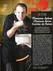 CHEF DO ANO / Revista VEJA 2014/2015