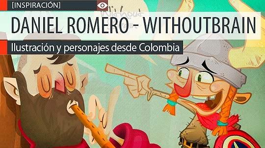 Ilustración y personajes de DANIEL ROMERO