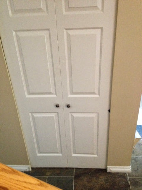Laundry Room Bifold Doors : Marie loves to keep busy laundry room reno converting