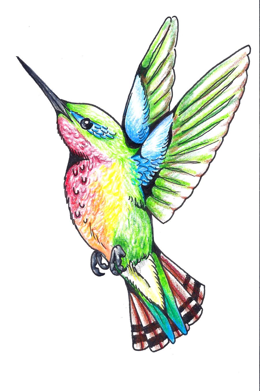 Tattoos of humming bird humming bird tattoo designs for Bird tattoo designs