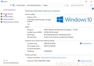 Cara Mudah Update Driver Windows 10