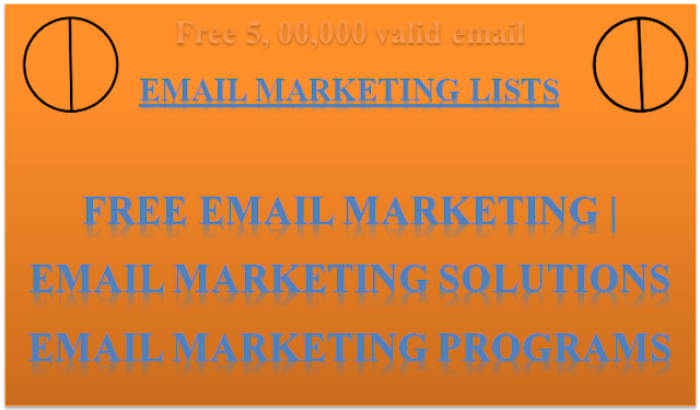 free email marketing database | email marketing  | email marketing solutions  | email marketing programs