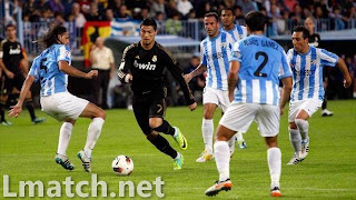 مشاهدة روابط مباراة ملقا ضد ريال مدريد بث مباشر