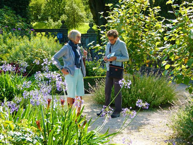 Elliptical Garden, Holker, gardeners