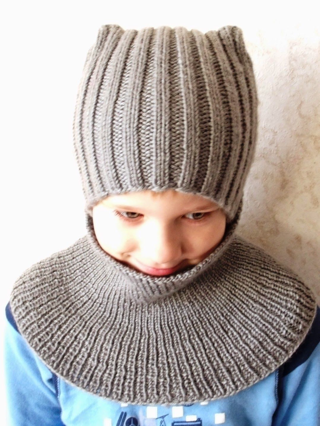 комплект для мальчика, шапка для мальчика,  серый, vita, вязание спицами, свяжу на заказ