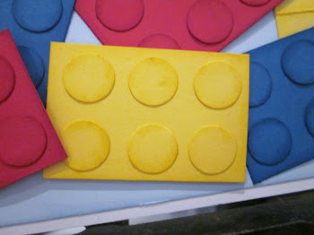 How to make lego bricks from card